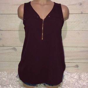 Women's Sz M Tempted Dressy Tank